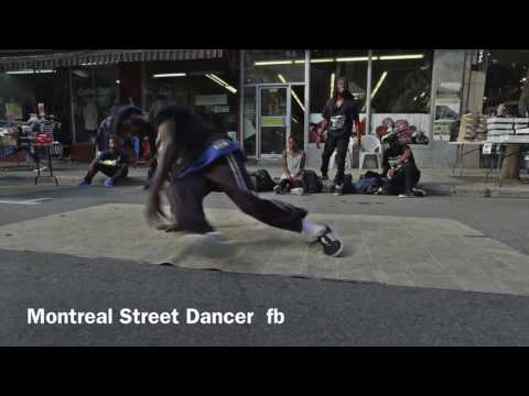 MONTREAL STREET DANCER nsync gone