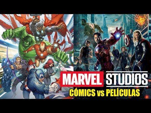 Marvel Studios: Cómics vs Películas