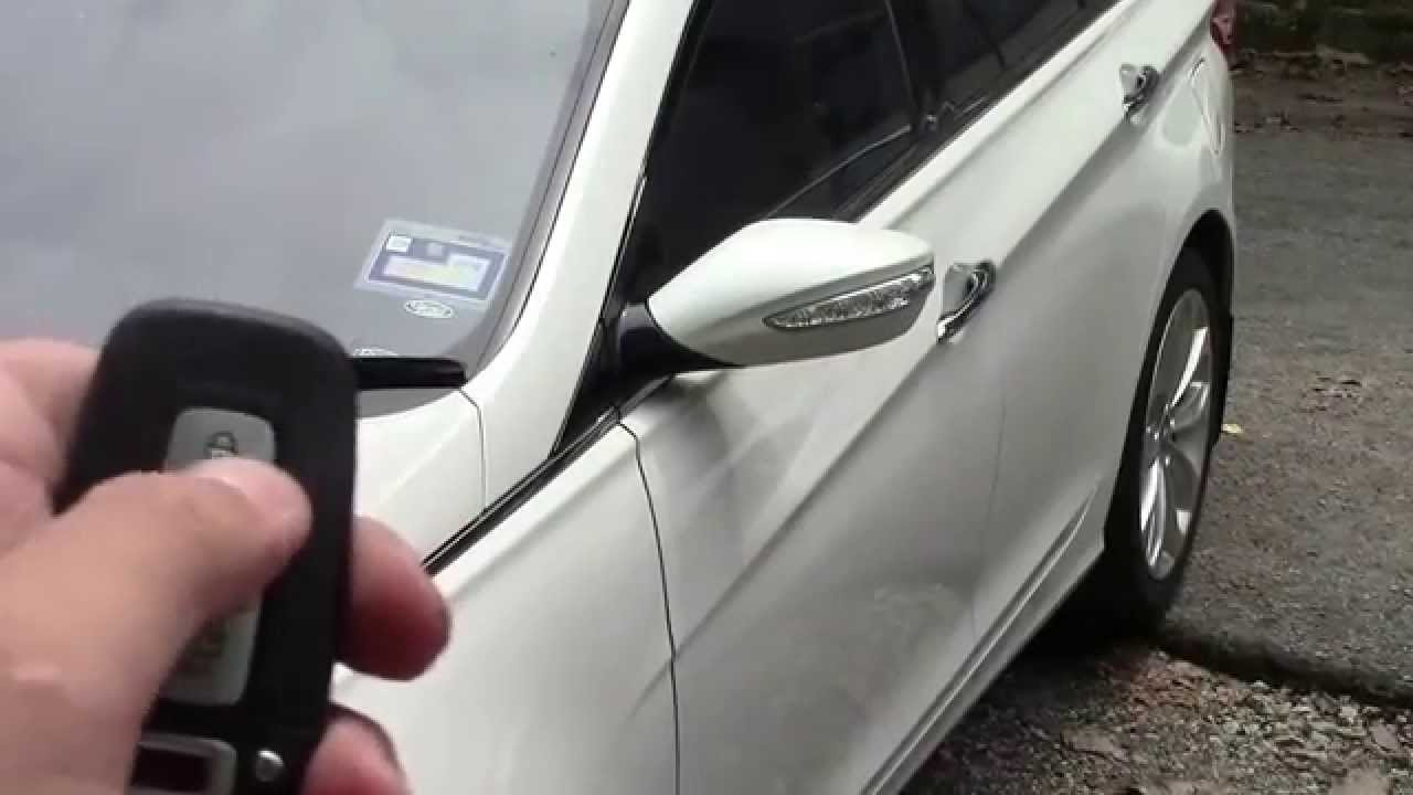 Hyundai Sonata Side Mirror Auto Fold Amark Am089hs Youtube