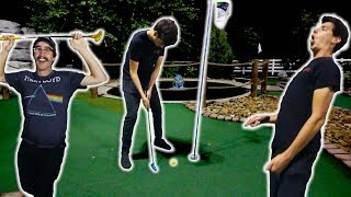 LUCKIEST MINI GOLF SHOTS EVER! *Part 1*