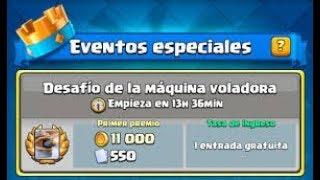CONSIGUIENDO LA MAQUINA VOLADORA GRATIS!!!! Clash Royale byBloDz