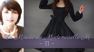 La Minute de Mademoiselle M 11 - Comment habiller une silhouette droite ?