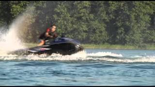 Krzysztof Hołowczyc testuje skutery wodne Yamaha!