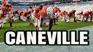 CANEVILLE - Miami Hurricanes vs FIU Panthers Pre Game