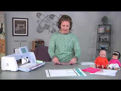 Learn to make doll clothes on It's Sew Easy with Emily Thompson (1707-1)