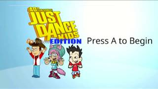 Just Dance Kids GoAnimate Edition Menu Songlist {Wii U}
