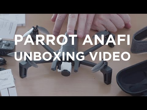 Parrot Anafi Drone -  Unboxing Video