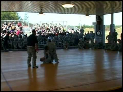 Army Combatives Competition 2011 Part1 of 3
