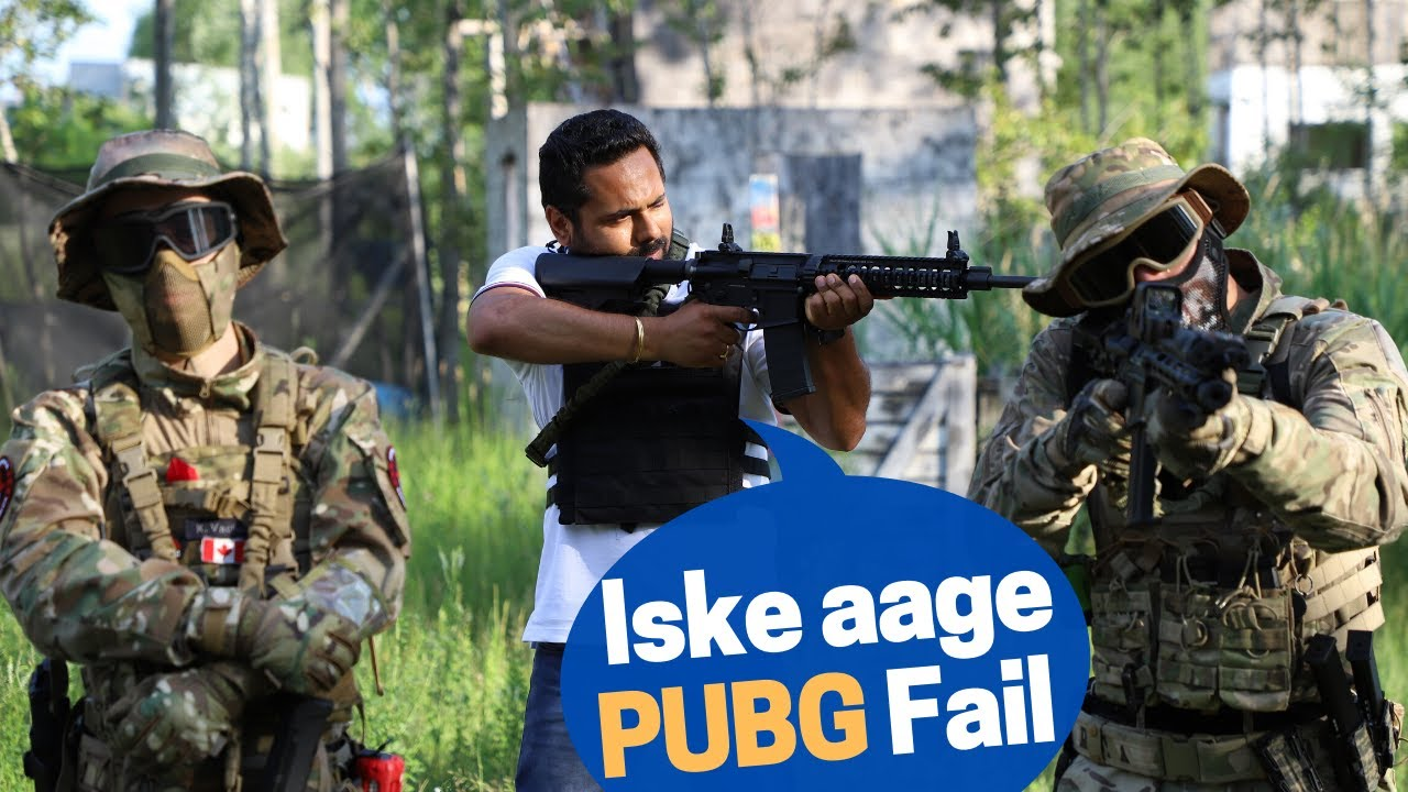 Playing Real Life PUBG In A Combat Shooting Range!