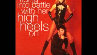 Play Riding Into Battle With Her High Heels On