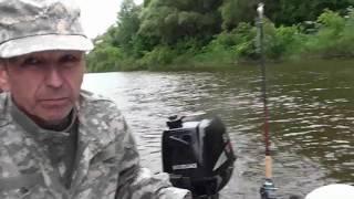 Рыбалка на реке Чулым в поисках зубатой красавицы. Троллинг