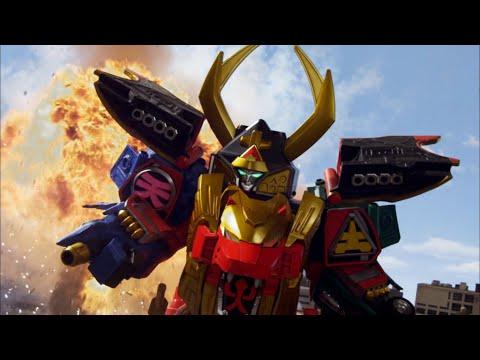 Enter Legendary Samurai Megazord