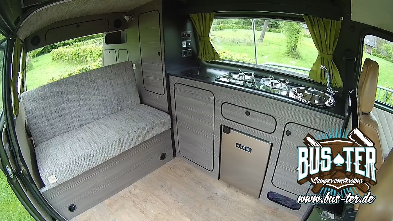Bus camper conversions vw bus t3 komplettausbau for Interieur westfalia t3