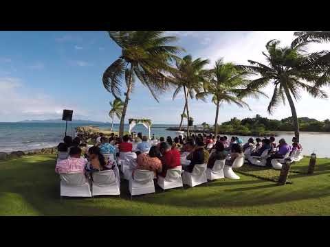 Chris & Doreen Fiji Wedding