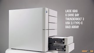 LACIE 6big Thunderbolt 3 6-Bay RAID Storage ARRAY