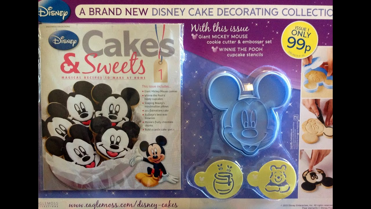 Disney Cakes And Sweets By Eaglemoss Quick Review