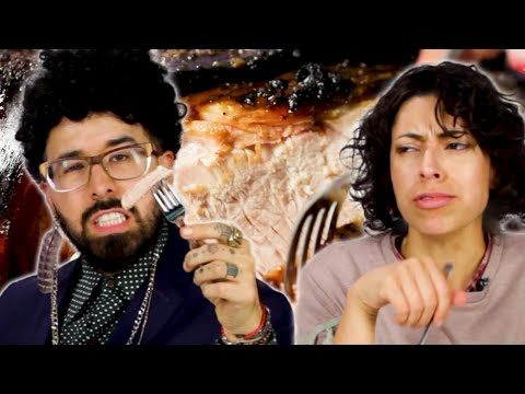 Latinos Try Pernil For The First Time