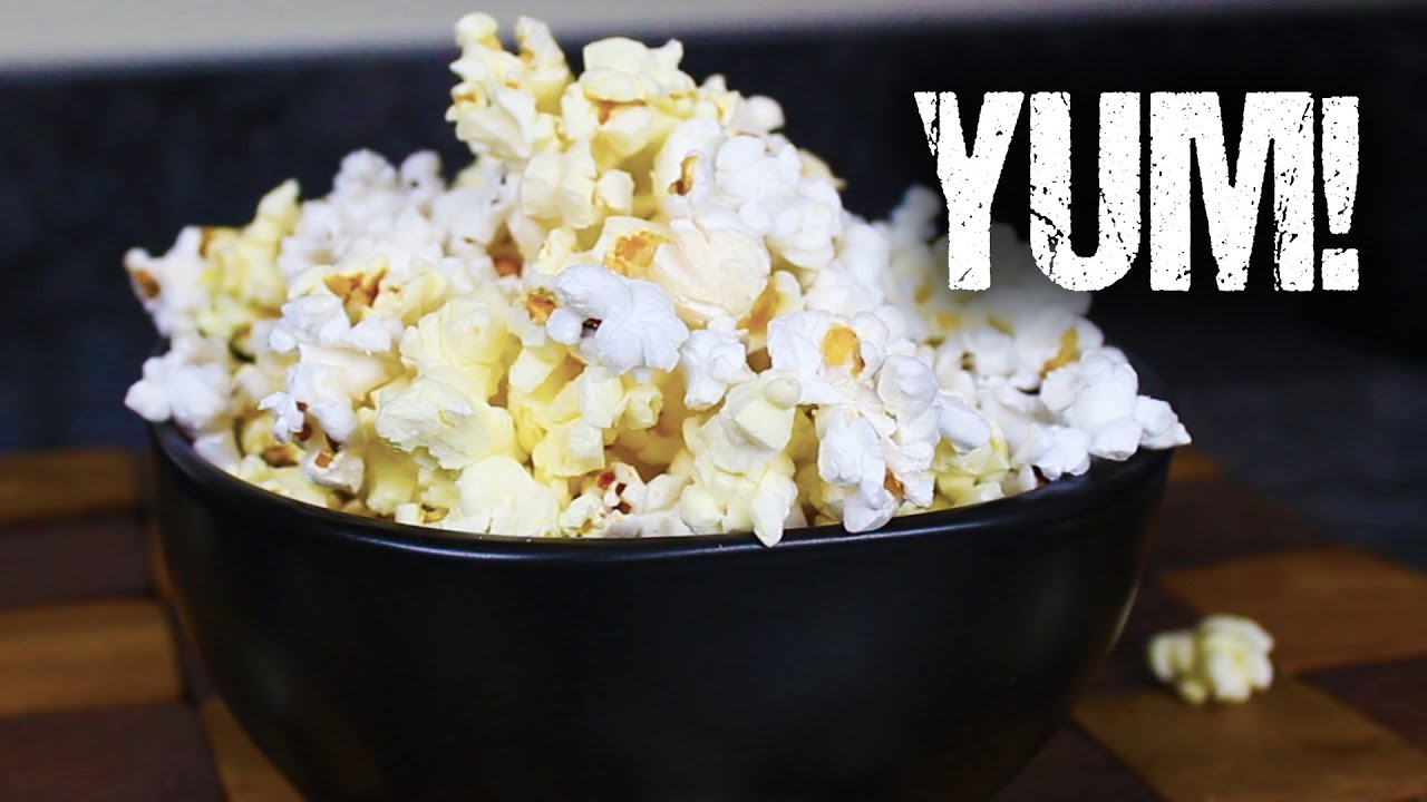 Homemade Microwave Popcorn From Scratch