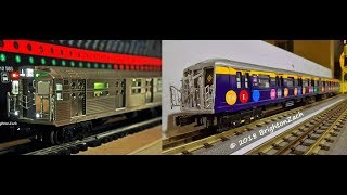 "MTH MTA NYCT 6-Car R11/R32/R34/*R40 2 Av Subway* ""Train of Many Metals Subway Set"""