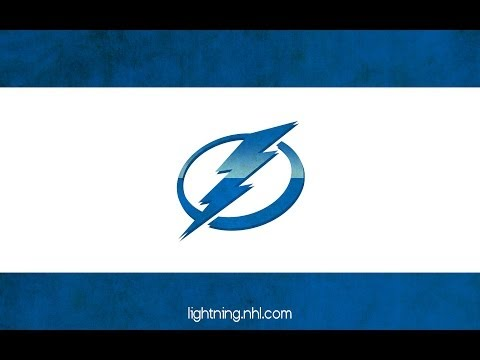 Tampa Bay Lightning NEW intro, fight & goals - home opener [HD]