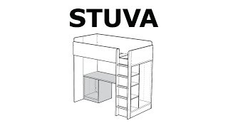 How To Assemble The Stuva Desk