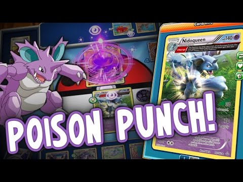 NEW FORMAT | Budget Nidoqueen/Nidoking Deck, Team Effort! | Pokémon TCG Online