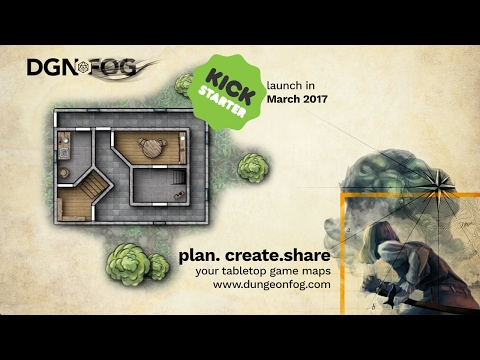 DUNGEONFOG - Create Tabletop RPG maps & notes