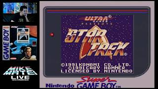 Star Trek For Game Boy Mike Matei Live