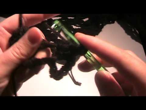 Anleitung – Dreieckstuch mit Totenkopf häkeln 1