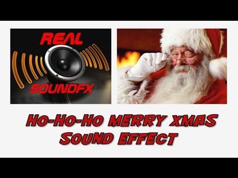 ho ho ho merry christmas santa claus sound effect realsoundfx youtube