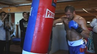 Sergey Kovalev Open Workout 7/9/15 - UCN EXCLUSIVE