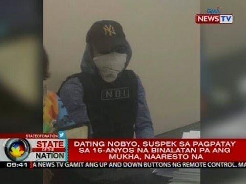SONA: Dating Nobyo, Suspek Sa Pagpatay Sa Babaeng Binalatan Ang Mukha