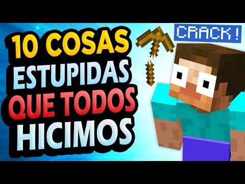 ✅ 10 Cosas Estúpidas Que Hiciste en Minecraft!!! #5