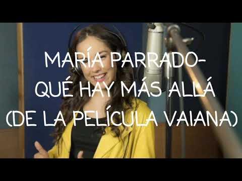 María Parrado - Qué hay más allá - Vaiana (letra)
