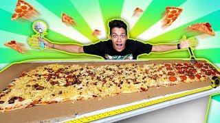 A MAIOR PIZZA DO MUNDO! [MAIS DE 2 METROS]