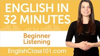 32 Minutes of English Listening Practice for Beginners thumbnail