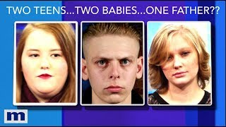 Two Teens...Two Babies...One Father? | The Maury Show