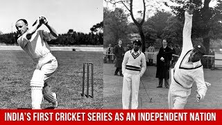 India's First Cricket Series As An Independent Nation | Asianet Newsable