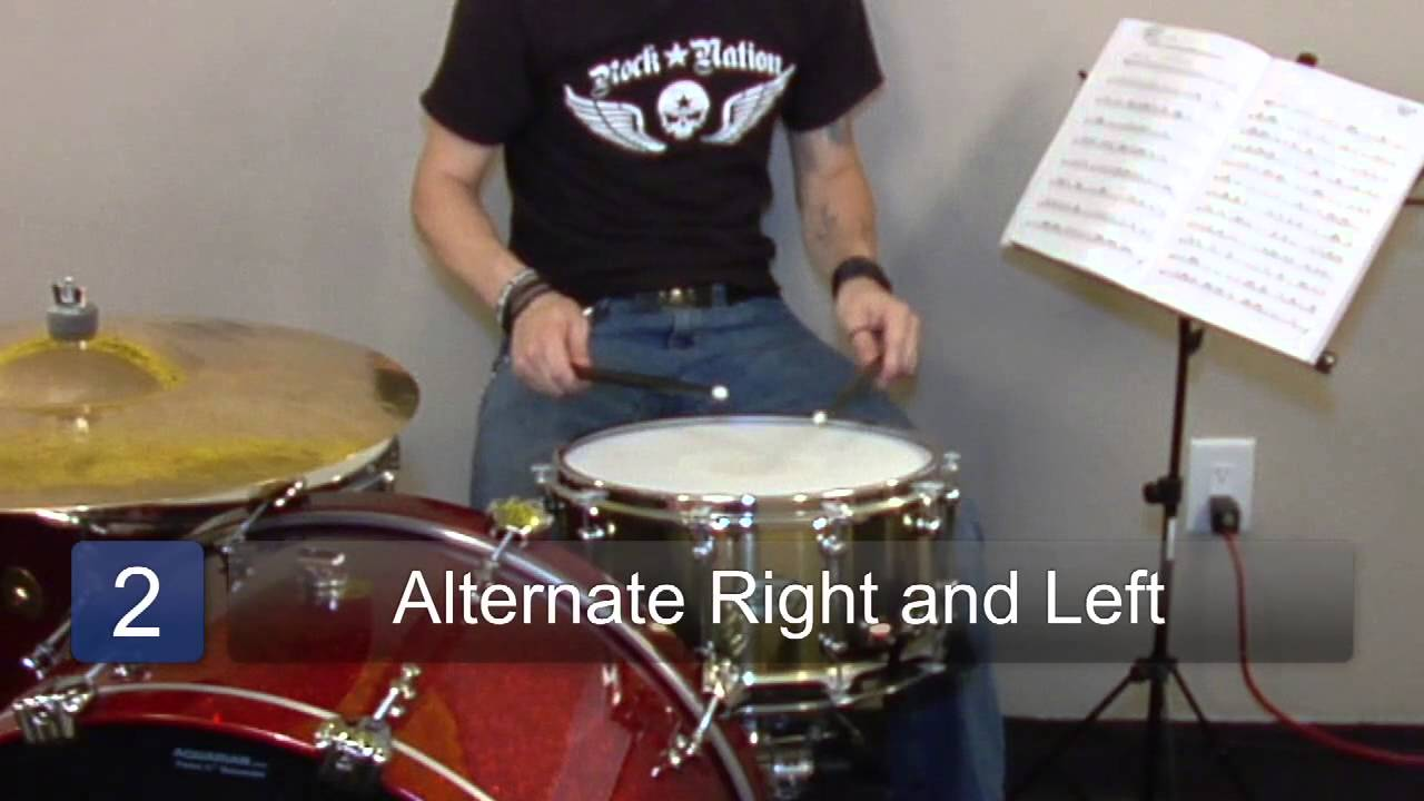 learn how to play snare drum playing a snare drum solo youtube. Black Bedroom Furniture Sets. Home Design Ideas
