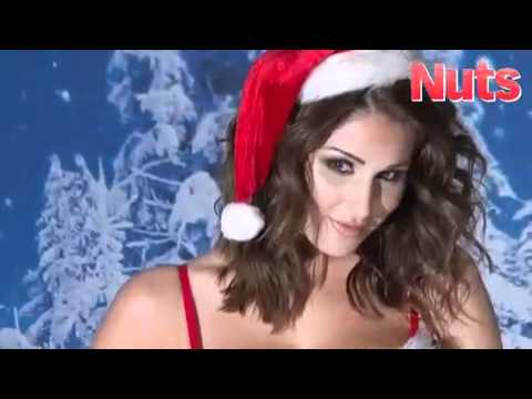 Lucy Pinder Nuts Magazine Christmas shoot 2010