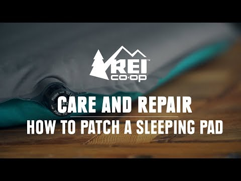 How to Patch a Sleeping Pad || REI