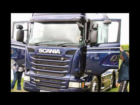 Haydock Commercials Deeside Scania Branch at Kelsall Steam and Vintage Rally 2013