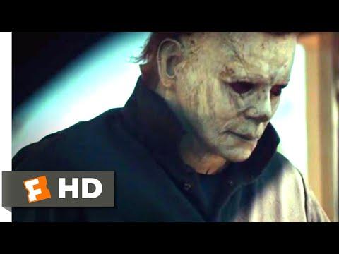 Halloween (2018) - Bathroom Bloodshed Scene (2/10)   Movieclips