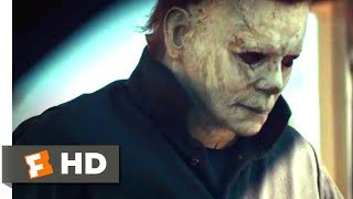 Halloween (2018) - Bathroom Bloodshed Scene (2/10) | Movieclips