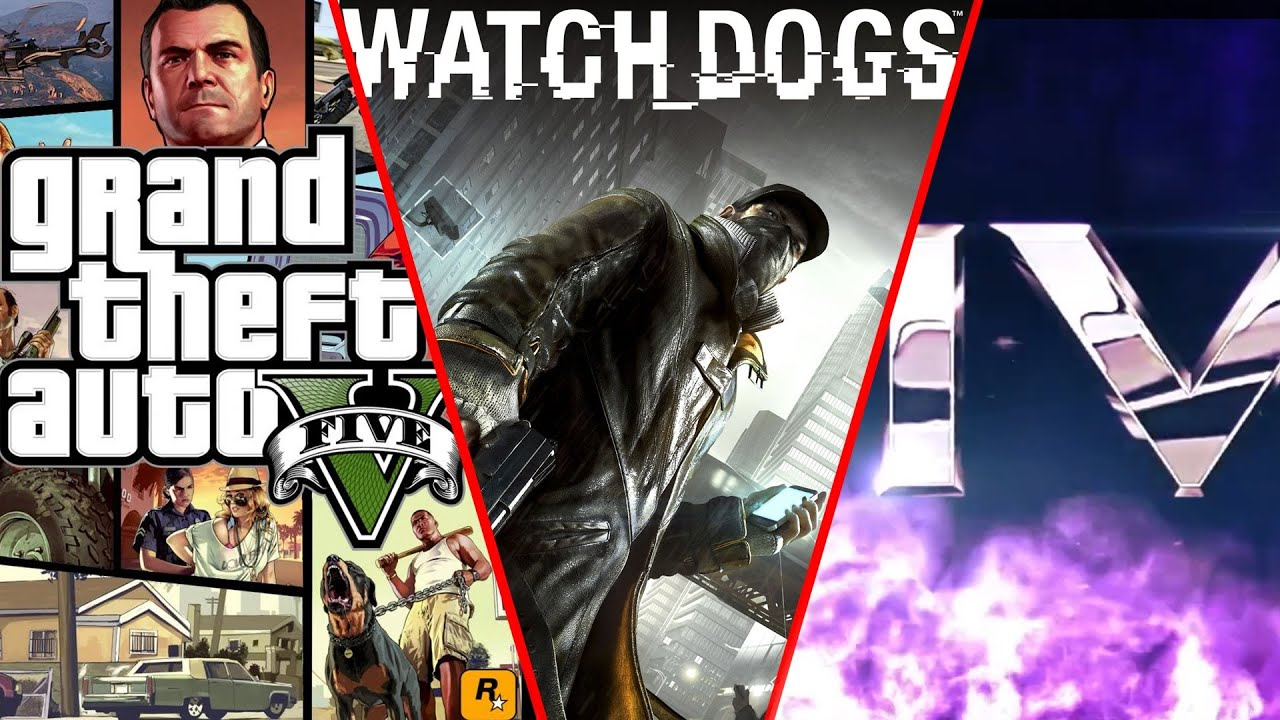 Gta  Vs Watch Dogs