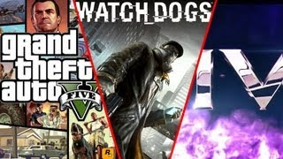 GTA V vs Watch Dogs vs Saints Row IV