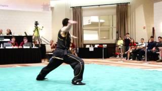 US National Wushu Team Trials 2013 - Jason Liu - Compulsory NQ