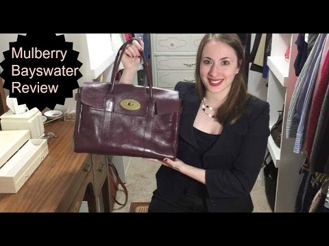1f3e9051286 Mulberry Bayswater Classic Bag Review   Work Tote   Heritage Vintage  Collection - YouTube
