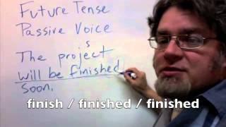 future tense passive voice