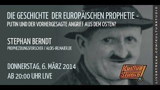 Die Geschichte  der Europäischen Prophetie - Stephan Berndt    KT  No. 89